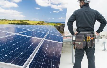 太陽光システム トラブル対応、復旧作業