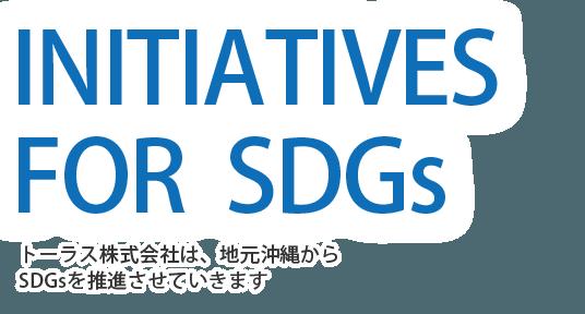 Promotion SDGs from Okinawa 沖縄からSDGs推進