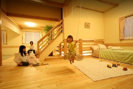 夏は涼しく、冬は暖かい木造住宅