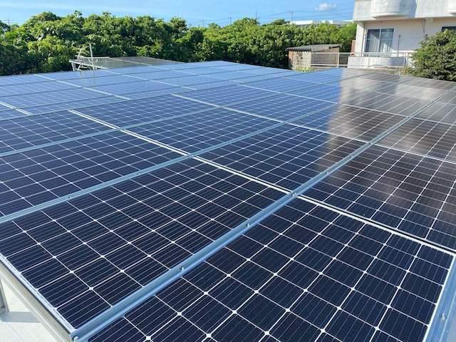 太陽光発電 宮古島市施工写真